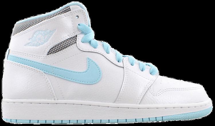 Air Jordan 1 Retro High Gg White Still Blue Air Jordan