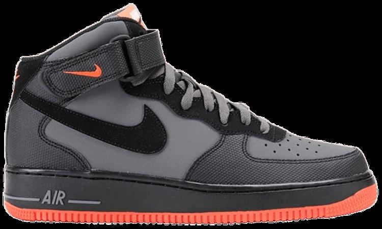 Air Force 1 Mid '07 'Dark Grey Crimson' Nike 315123 031