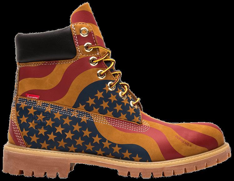 Supreme X 6 Inch Premium Boot 'American Flag' - Timberland