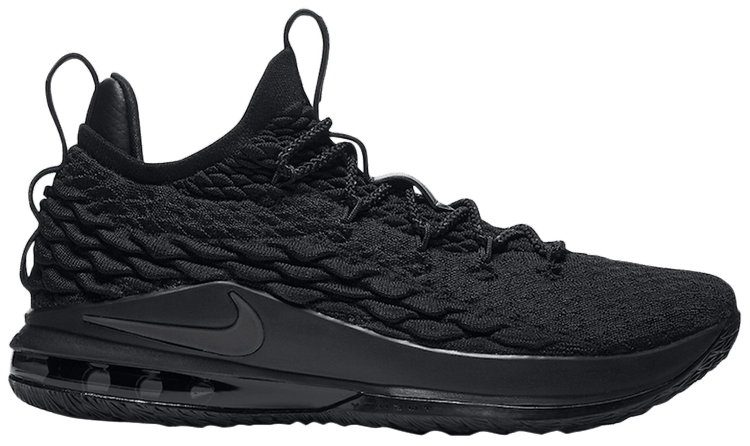 lebron 15 shoes black