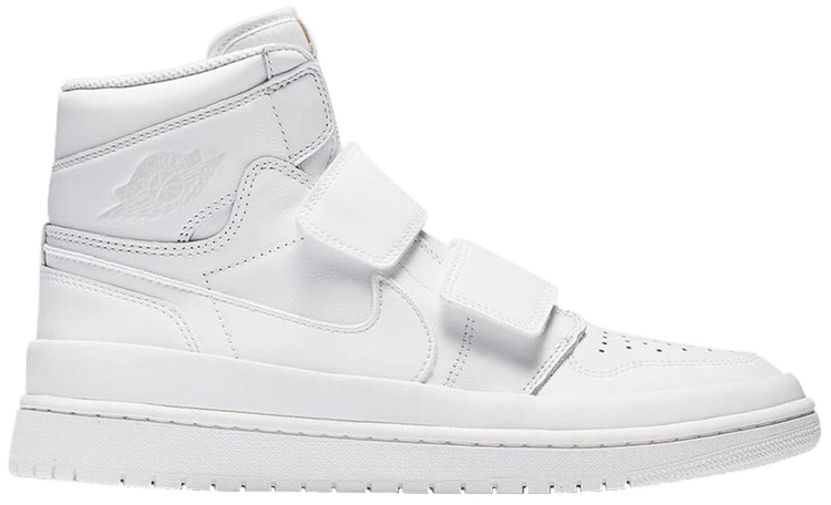 best shoes on feet shots of hot sale online Air Jordan 1 Retro High Double Strap 'Summit White'