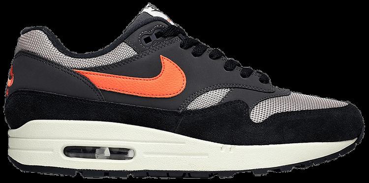 Nike Air Max 1 Oil Grey Mango Uk Size 7 Eur 41 AH8145-004