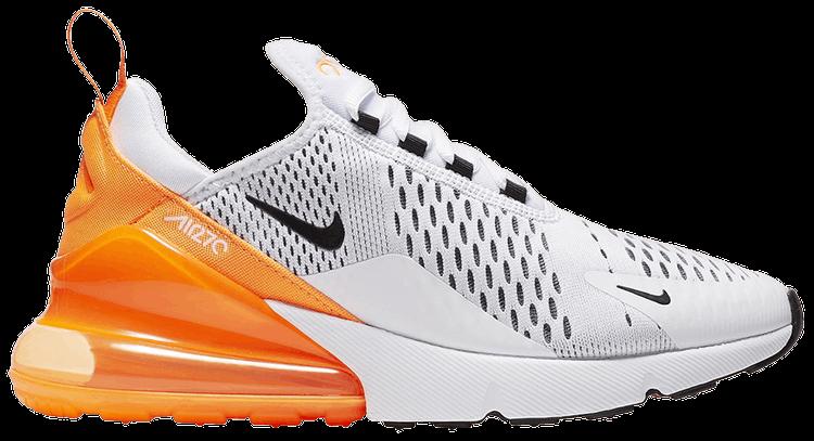 Wmns Air Max 270 White Orange Nike Ah6789 104 Goat