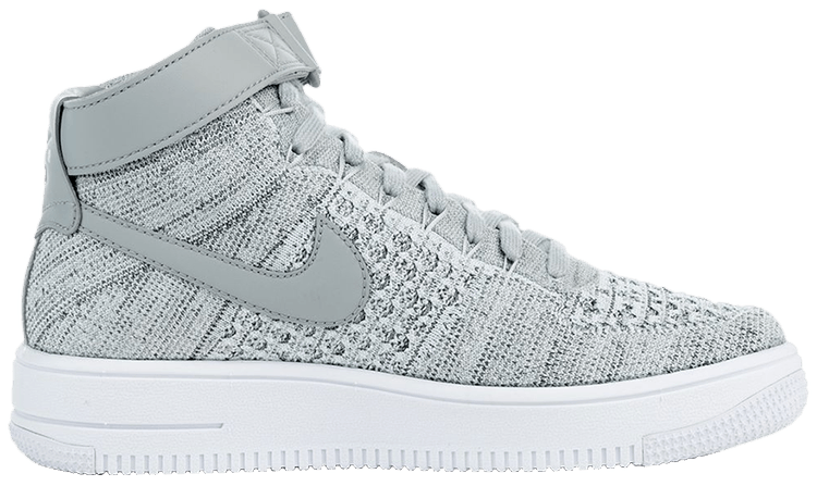 2air force 1 flyknit mid
