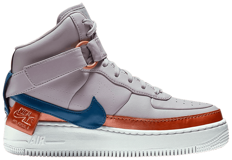 Wmns Air Force 1 Jester XX High 'Violet Ash' - Nike - AR0625 500 ...