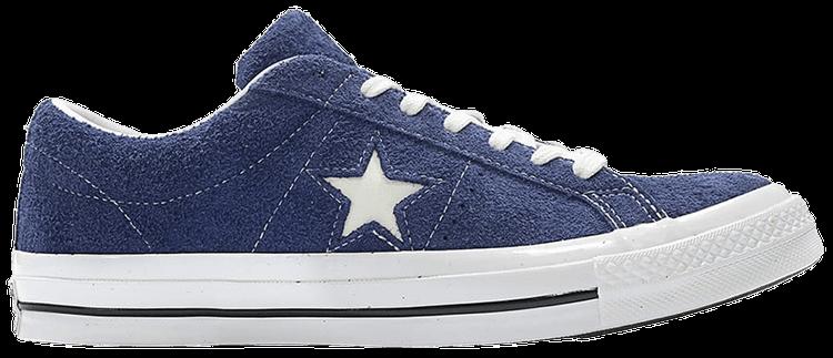 converse one star dark blue