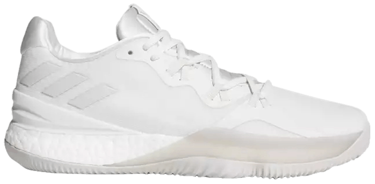 Details about adidas Crazy Light Boost 2018 Men Crystal White Chalk Pearl Cloud White DB1072
