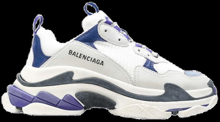 Balenciaga Triple S Sneaker in Blue Green White Goxip