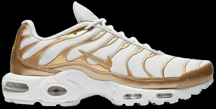 Wmns Air Max Plus 'White Gold' - Nike - 605112 054 | GOAT