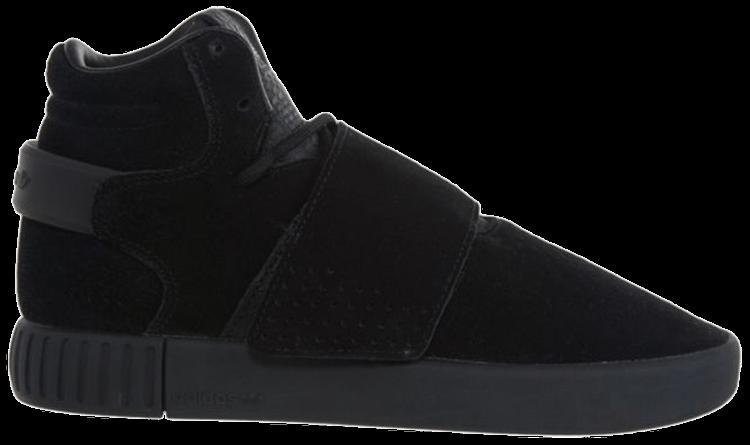 fan Leggere acquoso  Tubular Invader Strap J 'Triple Black' - adidas - BZ0302   GOAT