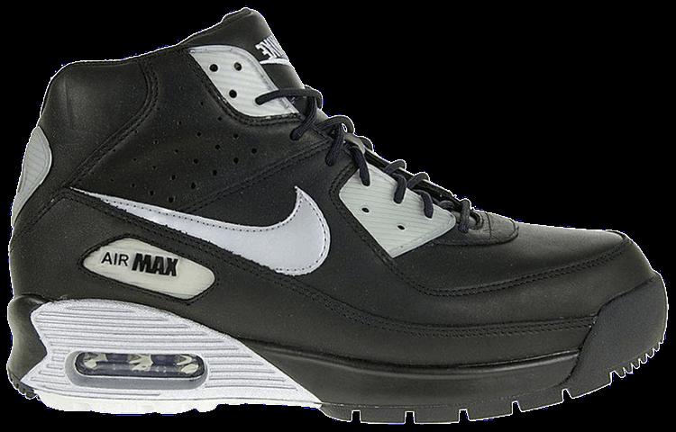 Air Max 90 Boot 'Black Metallic Silver'