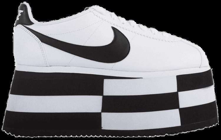 falda Insatisfactorio director  COMME des Garcons x Wmns Cortez 'Check White' - Nike - BV0070 101   GOAT