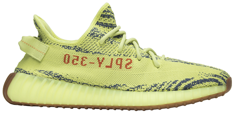 casual shoes purchase cheap hot sale online Yeezy Boost 350 V2 'Semi Frozen Yellow'