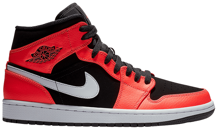 new style for whole family lace up in Air Jordan 1 Retro Mid 'Infrared 23'