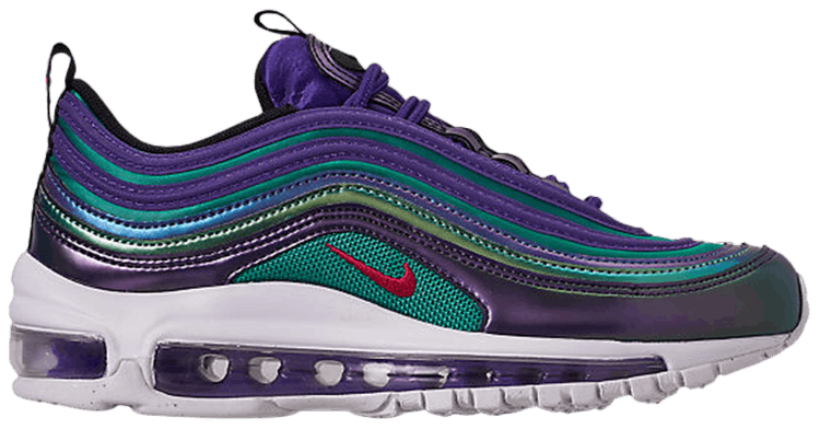 Nike Air Max 97 GS 'Iridescent' Court PurpleNeptune Blue
