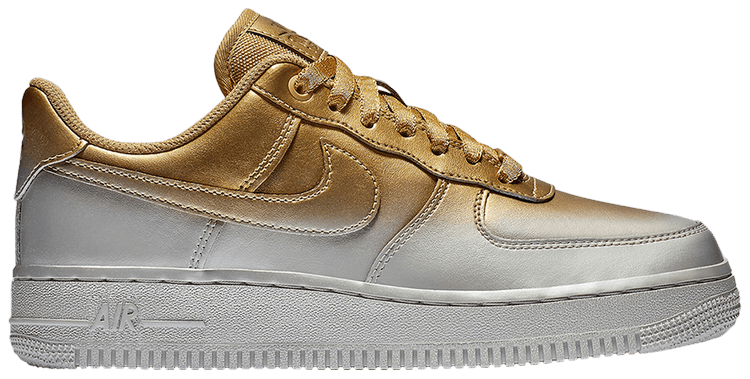 Air Force 1 Low  Gold Silver  - Nike - 898889 012  ca49fc2bd