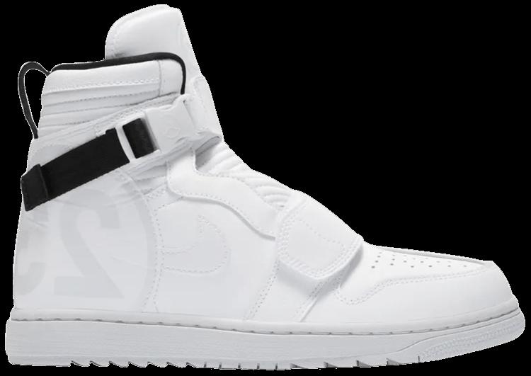 official crazy price 100% high quality Air Jordan 1 Moto 'Pure Platinum'