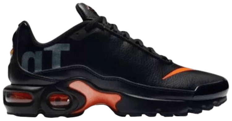 Air Max Plus Tn Se Bg Black Orange Nike Ar0005 001 Goat