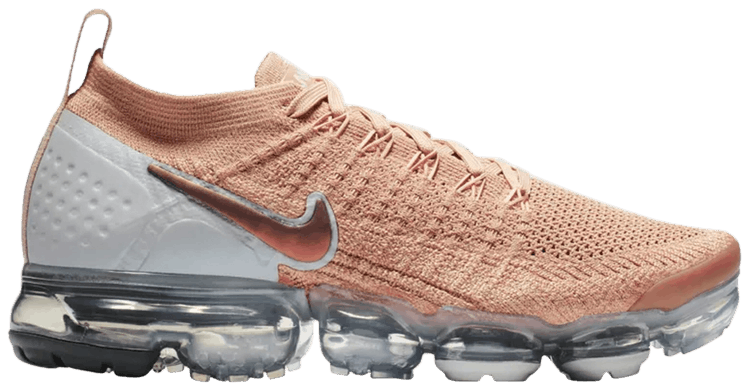 nike air vapormax flyknit 2 rose gold