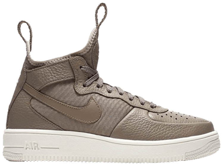 Wmns Air Force 1 UltraForce Mid 'Sepia Stone'