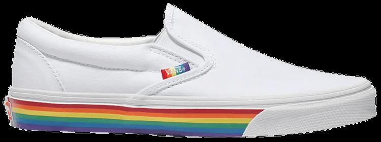 rainbow sole vans