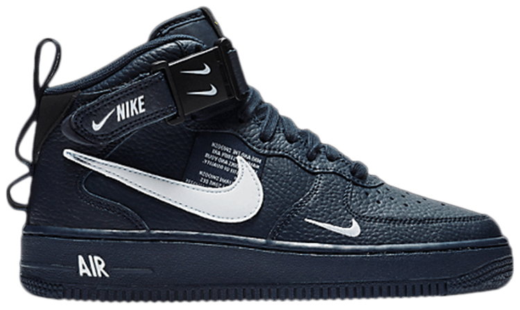 Air Force 1 Mid LV8 GS 'Overbranding'