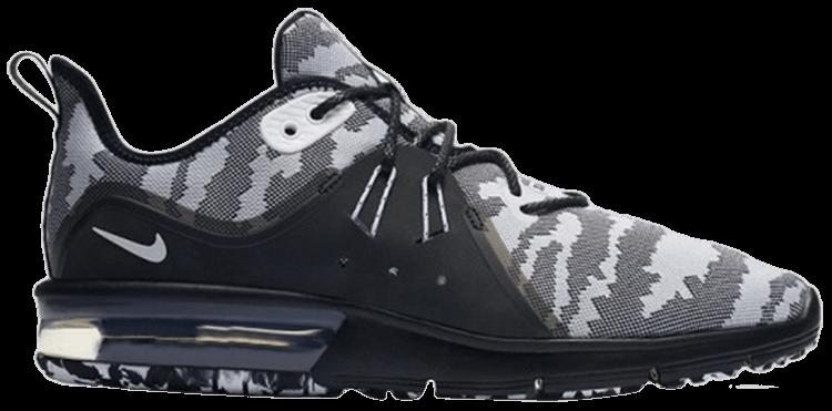 Fácil Deportista Acostado  Air Max Sequent 3 Premium 'Black Camo' - Nike - AR0251 001 | GOAT