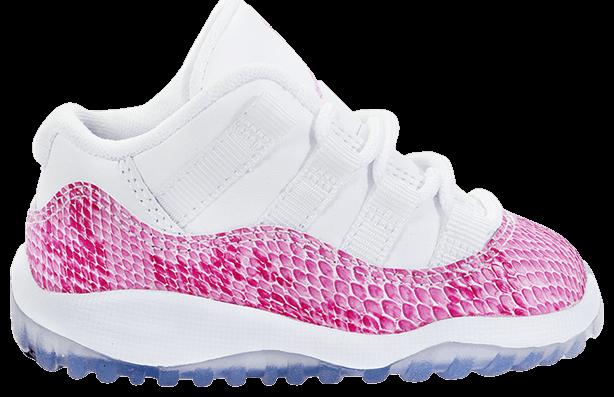 Air Jordan 11 Retro Toddler 'Pink Snakeskin'