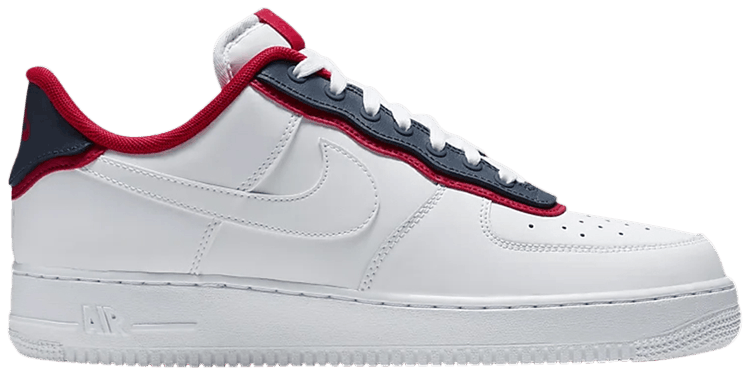 Air Force 1 '07 LV8 'Double Layer Obsidian Red'