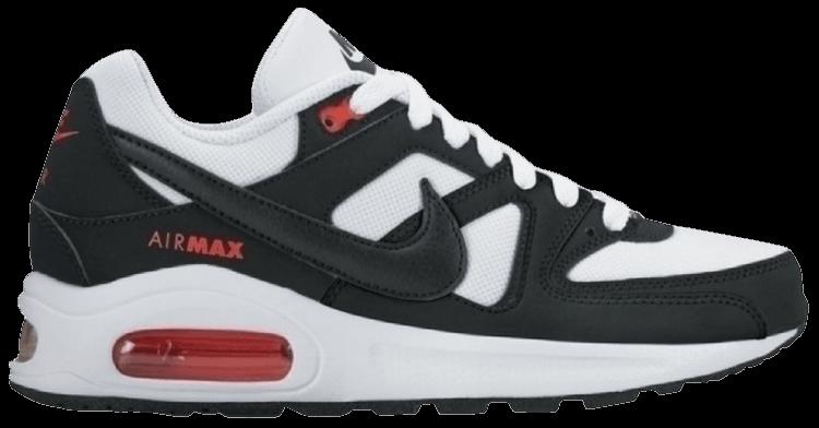 Air Max Command Flex GS 'White Black' - Nike - 844346 100 | GOAT