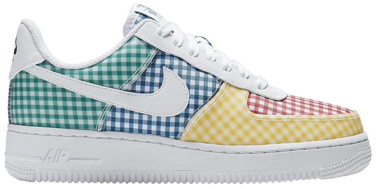 Rabatt Nike Wmns Air Force 1 Low Se Whitelight Aqua Aa0287