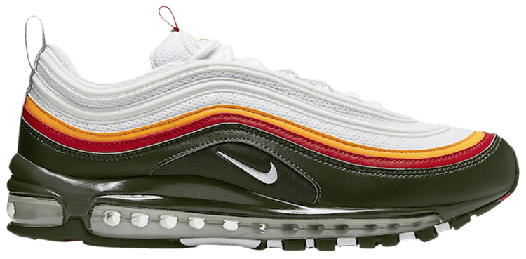 Air Max 97 Se White Evergreen Nike Ck0224 100 Goat