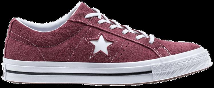 One Star Ox Kids 'Deep Bordeaux' - Converse - 261790C | GOAT