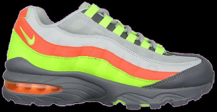 green and orange nike air max 95
