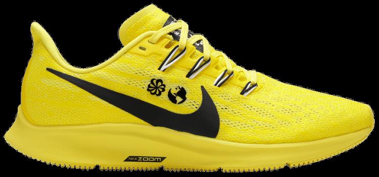 nike pegasus yellow