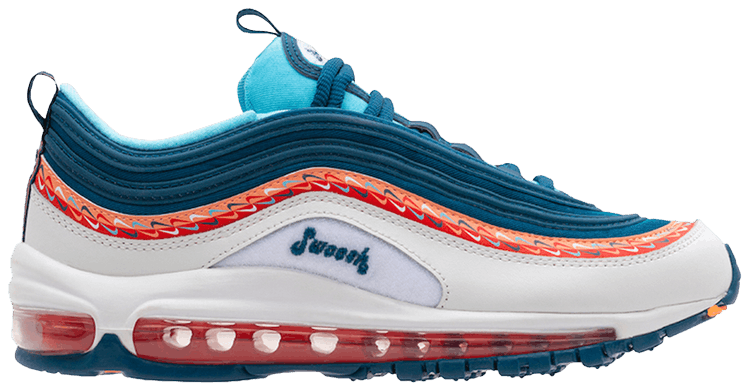 enfermedad comprender desagradable  Air Max 97 GS 'Swoosh Chain' - Nike - CQ4818 400 | GOAT