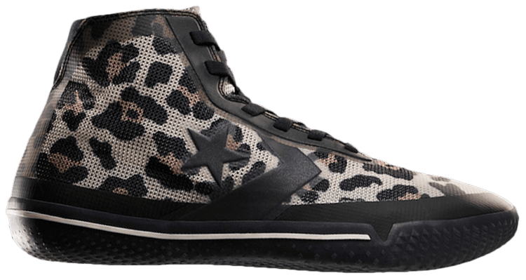 converse all star leopardo