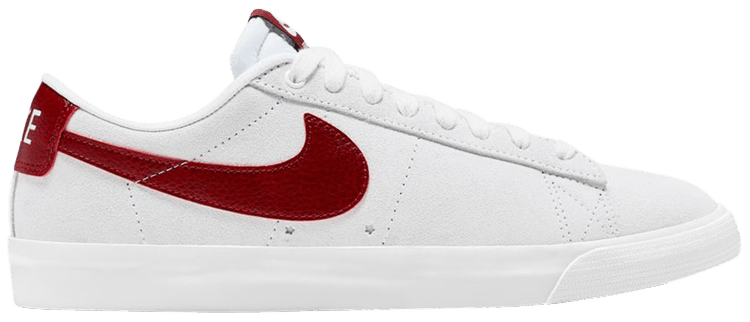 Zoom Blazer SB Low GT 'White Team Red' - Nike - 704939 102   GOAT