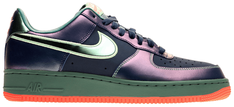 nike air force 1 brave blue/mineral teal/green glow