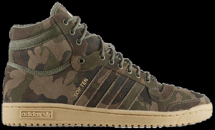 Top Ten High 'Army Camo' adidas BW0588 | GOAT