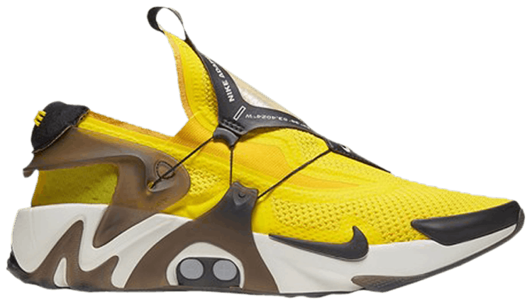 Get Nike Adapt Huarache Opti Yellow Images