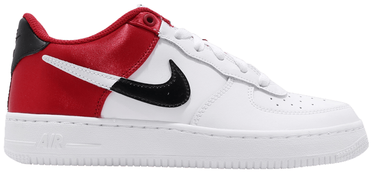 Air Force 1 LV8 1 GS 'Red Satin'