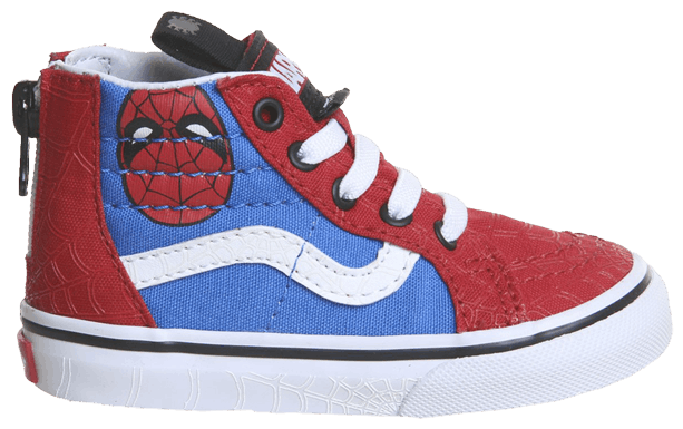 Marvel x Authentic Toddler 'Marvel Heads' Vans