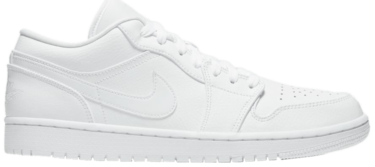 cheap price on feet images of fast delivery Air Jordan 1 Low 'Triple White' - Air Jordan - 553558 126 | GOAT
