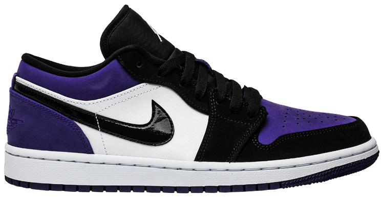 air jordan 1 low purple