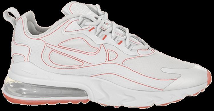 air max 270 react white flash crimson