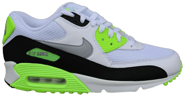 Nike Air Max 90 Essential 'WhiteWolf Grey Flash Lime