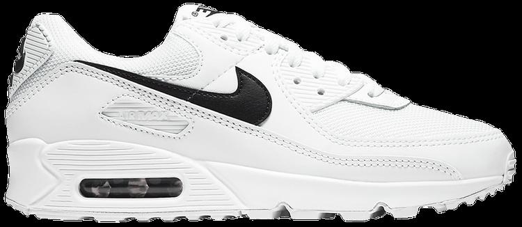 Wmns Air Max 90 White Black Nike Cq2560 101 Goat
