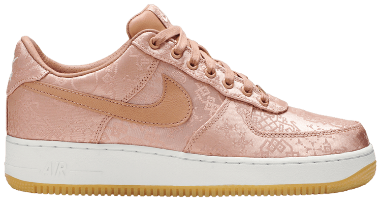 nike air force one clot rose gold
