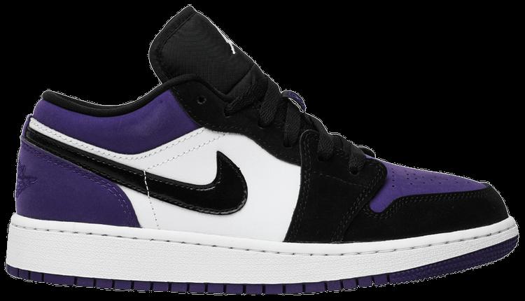 air jordan 1 court purple low